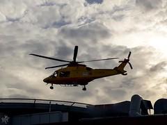 AgustaWestland AW169 I-LHCA (diegoavanzi) Tags: aw169 elicottero helicopter nuvole clouds cielo sky milano milan agustawestland