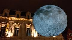 low moon (*n3wjack's world in pixels) Tags: lichtfestival gent ghent moon maan lightfestival 2018