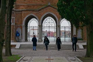 Cimetière de San Michele (Venise, Italie)