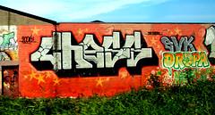 graffiti along the railway (wojofoto) Tags: graffiti nederland netherland holland trackside railway spoor spoorweg wojofoto wolfgangjosten chess