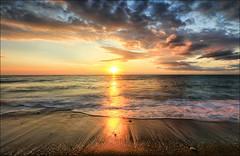 Buon Compleanno Bepi ! (Gio_guarda_le_stelle) Tags: bepi compleanno 15 sunrise water seaside seascape happybirthday mare jonio alba mar playa spiaggia sabbia sand sun nuvole clouds sunbeams noi figlio
