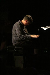 (Paul Comstock) Tags: liveatthefalcon jazz music sundaynight night sunday 22july2018 july 2018 summer marlboro newyork tonyfalco canons120 canon randyingram randy ingram pianist piano musician