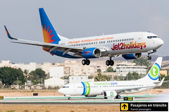 Boeing B737 Jet2 Holidays G-GDFW (Ana & Juan) Tags: airplane airplanes aircraft airport aviation aviones aviación boeing 737 b737 jet2 holidays landing alicante alc leal spotting spotters spotter planes canon closeup