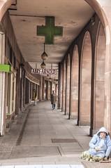 154- ABRY-ARNOLD (ESTRASBURGO) (--MARCO POLO--) Tags: edificios arquitectura soportales ciudades curiosidades