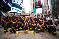 20180725-FDNY-2019-Calendar-Launch-002 (Official New York City Fire Department (FDNY)) Tags: fdny calendar ems emt firefighter fit men nyc paramedic timessquare women