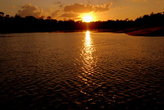 The Day is coming to the end (Yalila Guiselle) Tags: bitariver vichada colombia sunset sun sky scenic clouds