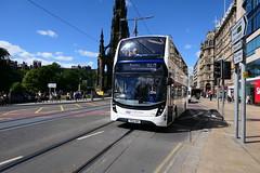 11620-01 (Ian R. Simpson) Tags: sn66bbx scania n280ud alexanderdennis enviro400mmc readingbuses reading 775 bordersbuses 11620 edinburgh scotland