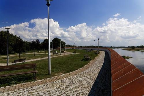 Festung Küstrin - Kattewall
