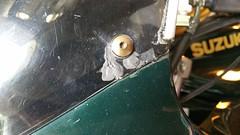 Grey goo for plastic repair? (JD and Beastlet) Tags: