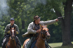 civil war reenactment. july 2018 (timp37) Tags: horseback illinois horse soldiers gun riders south civil war reenactment lombard july 2018 four seasons park