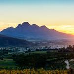 sunset @ Dieu Donne Vineyards (Franschhoek) thumbnail