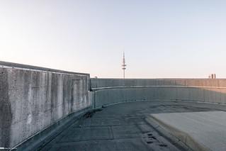 Blick über den Bunkerrand