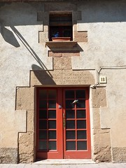P6120292 (simonrwilkinson) Tags: santapau baixagarrotxavolcanicnaturereserve girona catalonia spain lintel inscribed medieval