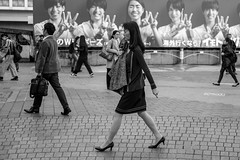 The Boss (burnt dirt) Tags: asian japan tokyo shibuya station streetphotography documentary candid portrait fujifilm xt1 bw blackandwhite laugh smile cute sexy latina young girl woman japanese korean thai dress skirt shorts jeans jacket leather pants boots heels stilettos bra stockings tights yogapants leggings couple lovers friends longhair shorthair ponytail cellphone glasses sunglasses blonde brunette redhead tattoo model train bus busstation metro city town downtown sidewalk pretty beautiful selfie fashion pregnant sweater people person costume cosplay boobs