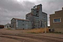 Alliance, Nebraska Old Wood Grain Elevator. (Wheatking2011) Tags: alliance nebraska old wood grain elevator owned operated by o m kellogg