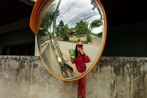 Convex mirror, Chiang Mai
