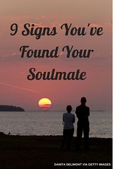 Soulmate And Love Quotes: 9 Signs You've Found Your Soulmate (If You Believe In That Sort Of Thing) #soulm... (Hall of Quotes Books) Tags: