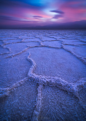Badwater Burn (Jim Patterson Photography) Tags: 2018 california deathvalley deathvalleynationalpark inyocounty beautiful beauty desert desertlandscape landscapes nature outdoors scenery scenic travel winter jimpattersonphotographycom jimpattersonphotography badwater sunset saltflats salt basin