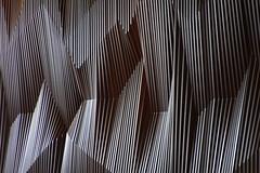DOKK1 - Aarhus (Elbmaedchen) Tags: architektur architecture aarhus dokk1 multimediahaus schmidthammeroglassen bibliothek danmark dänemark denmark jylland jütland strukturen linien trennwand