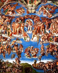 Sistine Chapel - The Last Judgement (Seán Creamer) Tags: sistine michelangelo chapel vatican catholicism catholic painting lastjudgement adam god creation religion sistinechapel
