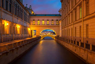 Summer at Winter Canal | St. Petersburg, Russia