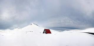 Emergency Mountain Hut,  Snæfellsnes Peninsula, Iceland