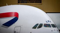 Airbus A380-841 G-XLEA British Airways (William Musculus) Tags: airport spotting london heathrow lhr egll airbus a380841 gxlea british airways ba baw a380800