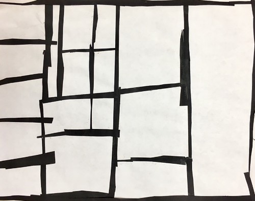 """Every year I get new favorites with this #kindergarten #pietmondrian  inspired painted paper gridded #collage ❤️❤️  They have such an amazing lyricism at this age that I admire so much. Want em all! • <a style=""""font-size:0.8em;"""" href=""""http://www.flickr.com/photos/57802765@N07/30026282968/"""" target=""""_blank"""">View on Flickr</a>"""