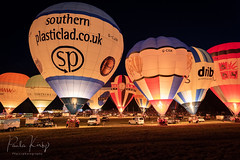 Bristol Balloon Fiesta Night Glow (PKpics1) Tags: bristol england night nighttime glow nightglow fire baskets balloons light fiesta balloon ashton 2018 international internationalballoonfiesta