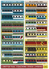 Ken Yer Liveries (the Magnificent Octopus) Tags: drawing illustration graphicdesign graphic poster print railway rail railways britishrail railblue livery liveries diagram chart
