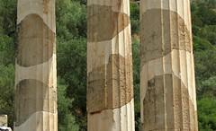 the Tholos of Delphi IMG_9865 (mygreecetravelblog) Tags: greece delphi delfi centralgreece mainlandgreece parnassus mountparnassus mountparnassos unescoworldheritagesite ancientgreece historicsite archaeologicalsite delphiarchaeologicalsite sanctuary sanctuaryofathenapronaia tholos tholosofdelphi delphitholos delphictholos outdoor landscape