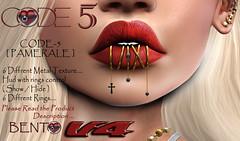 CODE-5 BENTO [ Pamerale ] V4 (Code-5) Tags: pamerale code5 code 5 kelly gold piercing silver bronz rosegold black white best