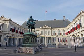 La Haye (Pays-Bas) : palais Noordeinde