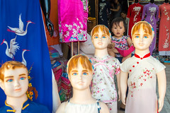 The Odd One Out (Jeff Williams 03) Tags: mannequin girl vietnam vietnamese hoian streetphotography street portrait travel