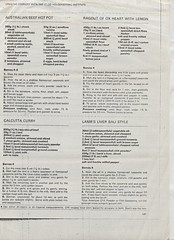 scan0106 (Eudaemonius) Tags: ls0028 the queens silver jubilee 19521977 souvenir cuttings book collection raw 20180722 eudaemonius clippings recipes newspaper recipe cooking cookbook cook estate sale find bluemarblebounty