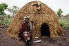 home (rick.onorato) Tags: africa ethiopia omo valley tribes tribal mursi woman hut