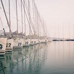 Sailboats waiting for season thumbnail