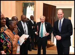 Prince William & Boris Johnson illegal wildlife trade (Foreign and Commonwealth Office) Tags: politics borisjohnson foreign secretary illegal wildlife trade chogm princewilliam commonwealth duke cambridge london unitedkingdom gbr