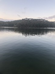 Day 1 trip away (Emma:king) Tags: reflections holiday nature water sunset lake newsouthwales nsw southcoast lakeconjola