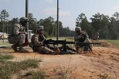It takes a team.. (Georgia National Guard) Tags: georgiaarmynationalguard annualtraining taser m4 m2 m249 mk19 ocspray armydemolitions uavravenfortstewart648 meb170 mpmilitary police