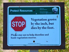DSCN5661, Sign at the nature preserve, July 2018 (a59rambler) Tags: massachusetts capecod signs