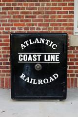 Atlantic Coast Line Safe (California Will) Tags: train station railroad railway atlanticcoastline florida zephyrhills historic fl pasco