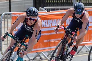 ITU Women's Triathlon Series, Leeds. June 2018