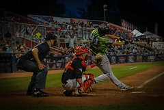 Baseball (the8dushphoto) Tags: baseball sport outside ball field hit bat ump team pitch throw