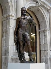 POMPEO Y LEONE LEONI - ESTATUA DE FELIPE II - MUSEO DEL PRADO (mflinera) Tags: madrid museo del prado pompeo y leone leoni escultura arte felipe ii