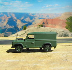 1:76 Scale Diecast Model British Military Land Rover Defender By Oxford Diecast Limited Swansea Wales United Kingdom 2017 : Diorama Arizona Scene - 15 Of 17 (Kelvin64) Tags: 176 scale diecast model british military land rover defender by oxford limited swansea wales united kingdom 2017 diorama arizona scene
