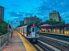 D Train D Train, Downtown Bound (zayaspointofviewphotography1) Tags: nyc bronx the2train newyorkcity iphone