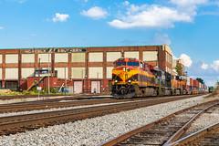 #231 by Pegram Shops (Kyle Yunker) Tags: kcs kansas city southern norfolk ns pegram shops wells atlanta es44ac general electric train intermodal