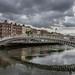 THE HA'PENNY BRIDGE IN DUBLIN 2