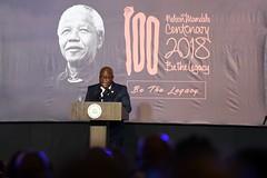 Nelson Mandela Centenary Celebration hosted by South African High Commission, Ghana, 18 July 2018 (GovernmentZA) Tags: nana addo dankwa akufoaddo lindiwe sisulu lulu xingwana ghana high commission nelson mandela centenary